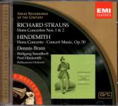 Hornkonzerte : Strauss & Hindemith (Siehe Info unten) (Rarität)