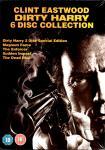 Dirty Harry Collection (5 Filme / 6 DVD) (UK-Import Mit dt. Ton) (Dirty Harry 1 & Calahan & Der Unerbittliche & Dirty Harry kommt zurück & Das Todesspiel)