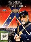 150 Jahre Amerikanischer Bürgerkrieg (3 DVD) (900 Min.) (Doku mit Spielfilmcharakter)