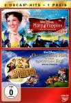 Mary Poppins 1 & Die Tollkühne Hexe In Ihrem Fliegenden Bett (Disney)  (2 DVD)  (Rarität)