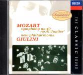 Mozart: Symphonies 40 & 41 (Rarität) (Siehe Info unten)