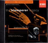 The Klemperer Legacy - Beethoven-Symphonien 4 & 5 (Rarität)