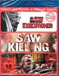 Torture Porn 3er Pack - Vol. 1 (Uncut) (Saw Executioner & Saw Killing & Saw Massacre 2)