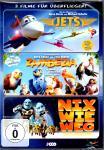 3 Filme Überflieger-Box (Jets & Zambezia & Nix Wie Weg) (3 DVD) (Animation)