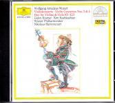Mozart: Violin Concertos Nos. 3 & 4; Duo for Violin and Viola KV 423 (Siehe info unten)