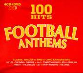 100 Hits Football Anthems (4 CD & 1 DVD) (Siehe Info unten) (Rarität)