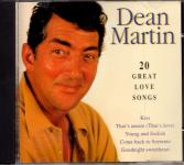 20 Great Love Songs - Dean Martin (Siehe Info unten)