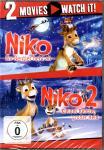 Niko 1 (Ein Rentier Hebt Ab) & Niko 2 (Kleines Rentier Grosser Held) (2 DVD) (Animation)