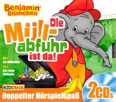 Die Müllabfuhr Ist Da - Benjamin Blümchen (2 CD)