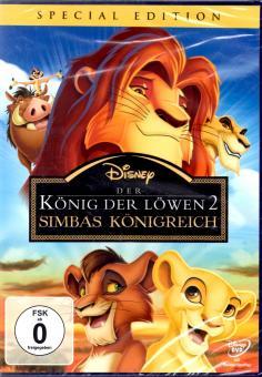 Der König Der Löwen 2 (Disney) (Special Edition) (Animation) (Rarität)