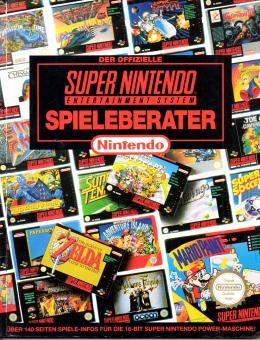 SNES Spieleberater 1 - Offizielles Lösungsbuch / Offizieller Spieleberater für SNES Super Nintendo Spiele (In Deutsch) (Siehe Info unten) (RARITÄT)