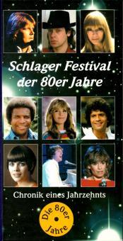 Schlager Festival Der 80er Jahre (4 CD) (112 Seitiges Bildband) (Rarität) (Siehe Info unten)