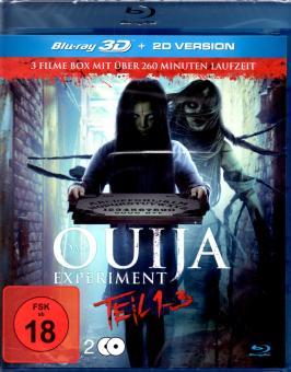 Das Ouija Experiment 1-3 (2D & 3D-Version) (2 Disc)