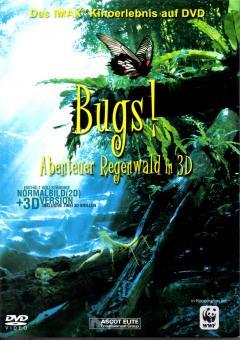 Bugs - Abenteuer Im Regenwald In 3D (2D & 3D Version Inkl. 2 Stk. 3D-Brillen) (+ Kartonschuber)