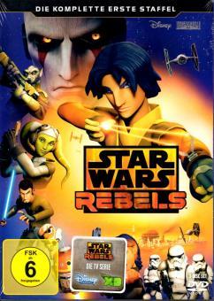 Star Wars: Rebels - 1. Staffel (3 DVD) (Siehe Info unten)