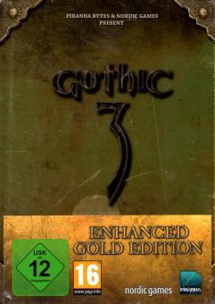 Gothic 3 (Enhanced Gold Edition) (Steelbox) (Rarität)