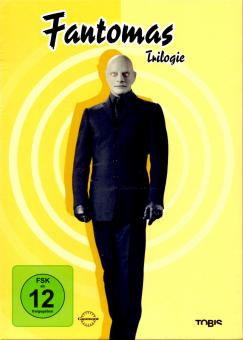 Fantomas - Trilogie (3 DVD) (Klassiker)