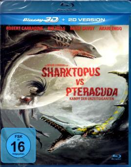 Sharktopus Vs. Pteracuda (2D & 3D Version)
