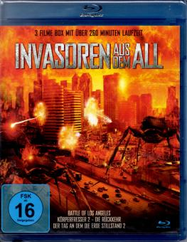 Invasoren Aus Dem All  (Battle Of L.A. & Körperfresser 2 & Tag An Dem Die Erde Stillstand 2)