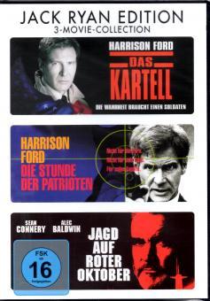 Jack Ryan Edition (3 DVD) (Das Kartell & Die Stunde Der Patrioten & Jagd Auf Roter Oktober)