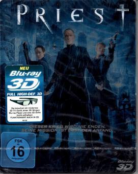Priest (Steelbox) (In 2D & 3D abspielbar)