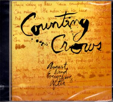 August & Everything After - Counting Crows (Mit Booklet)