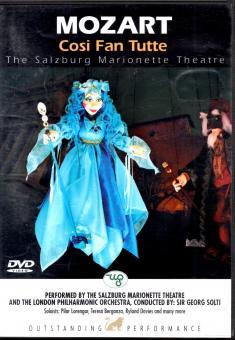 Mozart - Cosi Fan Tutte (Salzburger Marionetten Theater)