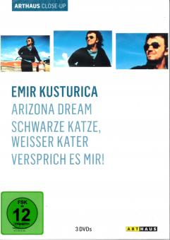 Emir Kusturica - Box (3 DVD) (Arizona Dream & Schwarze Katze, Weisser Kater & Versprich Es Mir)