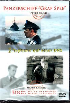 Kriegsfilme Box (Panzerschiff Graf Spee & Einer Kam Durch)