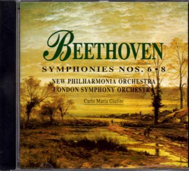 Beethoven Symphonies Nr. 6 & 8 (Siehe Info unten)