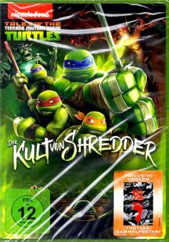 Ninja Turtles - Der Kult Von Shredder (Mit Coolem Sammelposter)