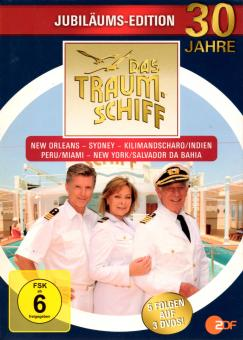 Das Traumschiff : 30 Jahre Jubiläums-Edition (3 DVD / 5 Folgen) (Siehe Info unten)