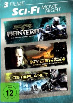 Science Fiction - Movie Night-Box (3 DVD) (Mantera & Nydenion & The Lost Planet)