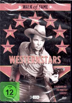 Westernstars 1 (3 DVD / 9 Filme) (Klassiker-Raritäten)