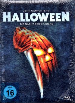 Halloween - Die Nacht Des Grauens (Wattiertes Limted Uncut Mediabook) (DVD & Blu Ray & CD-Soundtrack)
