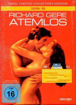 Atemlos (1982) (Limited Collectors Mediabook Edition) (1 DVD & 2 Blu Ray (24 Seitiges Booklet) (Erstauflage)