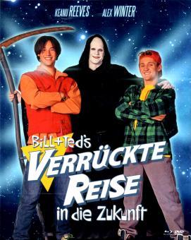 Bill & Teds Verrückte Reise In Die Zukunft (Limited Mediabook / 2 DVD & 1 Blu Ray) (Siehe Info unten) (Rarität)