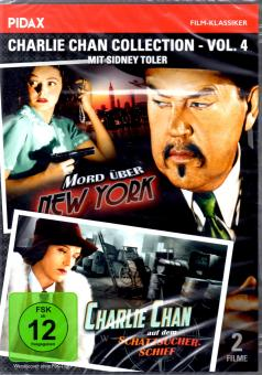 Charlie Chan Collection 4 (S/W) (2 Filme / 2 DVD)