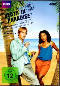 Death In Paradise - 3. Staffel (4 DVD) (Siehe Info unten)