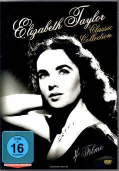Elizabeth Taylor - Classic Collection (4 Filme / 2 DVD) (Klassiker) (Siehe Info unten)