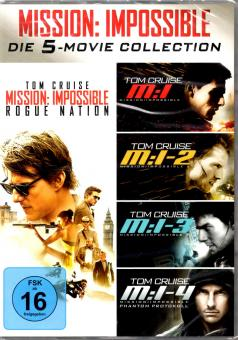 Mission Impossible - Die 5 Movie Collection (5 DVD)