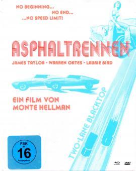 Asphaltrennen (Two-Lane Blacktop) (Limited Uncut Mediabook / 2 DVD & 1 Blu Ray)
