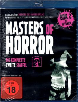 Masters Of Horror - 2. Box (13 Filme / 4 Disc) (ca. 900 Min. Bonusmaterial)