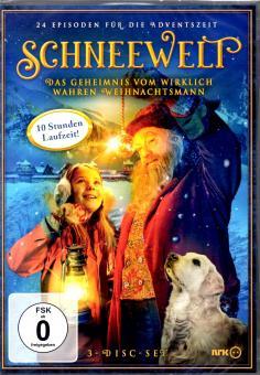 Schneewelt - Box : Komplette Weihnachtsserie (3 DVD / 24 Episoden / 10 Stunde Laufzeit)