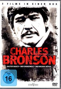 Charles Bronson - Box (3 DVD) (Kalter Hauch & Der Grenzwolf & Der Weisse Büffel) (Siehe Info unten)