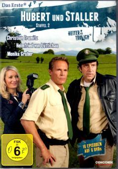Hubert Und Staller - 2. Staffel (16 Episoden / 6 DVD) (Siehe Info unten)