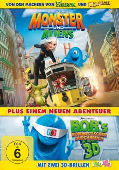 Monster Und Aliens (Mit 2 Stk. 3D-Brillen)