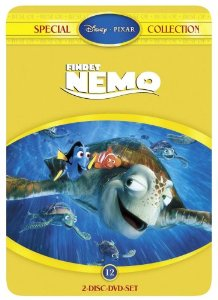 Findet Nemo (Disney)  (2 DVD)  (Steelbox)  (Special Collection)  (Rarität)