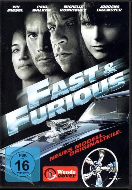 Fast & Furious 4 - Neues Modell / Original Teile