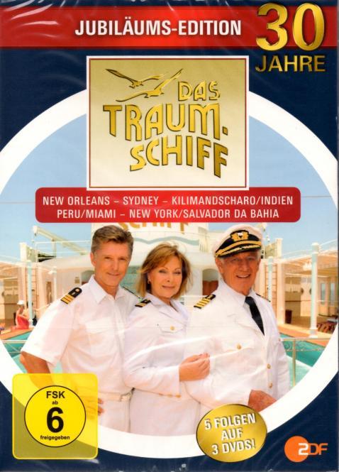 Das Traumschiff : 30 Jahre Jubiläums-Edition (3 DVD / 5 Folgen)